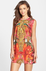 Ted Baker 'Paisley Toucan' Cover Up Tunic Bright Pink