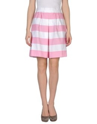 Moschino Cheap And Chic Moschino Cheapandchic Knee Length Skirts Pink