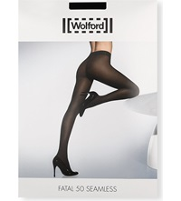 Wolford Fatal 50 Seamless Tights Black