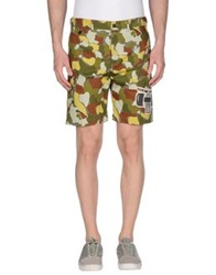 Golden Goose Bermudas Light Green