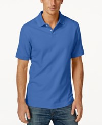 Club Room Big And Tall Men's Polo Shirt Only At Macy's Lazulite