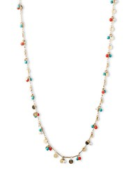 Lonna And Lilly Goldtone Multi Color Shaky Bead Necklace