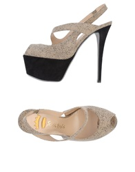 Ernesto Esposito Sandals Dove Grey