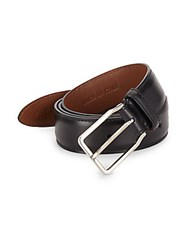 Brunello Cucinelli Leather Belt Black