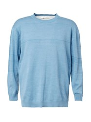 Digawel Two Tone Sweater Blue