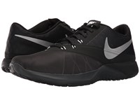 Nike Fs Lite Trainer 4 Anthracite Black Cool Grey Metallic Silver Men's Shoes