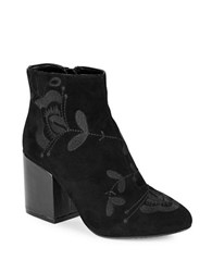 French Connection Dilyla Suede Ankle Boots Black