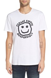 Altru Men's 'Emote Responsibly' Graphic T Shirt