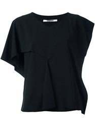 Chalayan Slash Sleeve Top Black