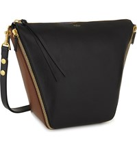 Mulberry Camden Leather Hobo Bag Black Multi