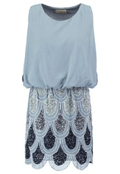 Lace And Beads Sharon Angela Summer Dress Grey Ombre
