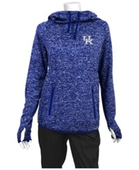 Antigua Women's Kentucky Wildcats Recruit Pullover Sweatshirt Royalblue