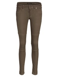Marc O'polo Skara Quilt Jeans In Snuggle Stretch Tan