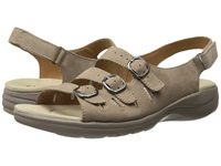 Clarks Saylie Medway Taupe Nubuck Women's Sandals