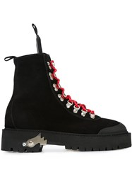Off White 'Hiking Mountain' Boots Black