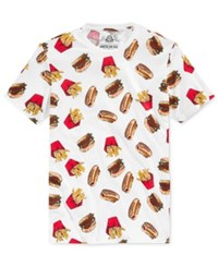 American Rag Men's Foodie T Shirt Only At Macy's Bright White