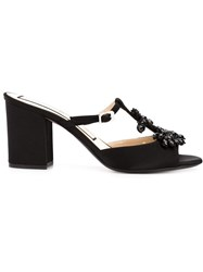 No21 Anchor Detail Sandals Black