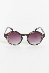 Urban Outfitters Large Round Plastic Sunglasses Grey