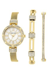 Anne Klein Women's Watch And Bangle Set 28Mm