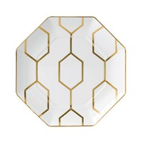 Wedgwood Arris Octagonal Side Plate 23Cm White