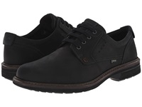 Ecco Turn Gtx Plain Toe Tie Black Black Men's Plain Toe Shoes