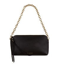 Burberry Shoes And Accessories Leather Clutch Bag Female Black