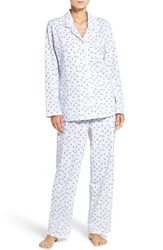 Eileen West Women's Floral Cotton Pajamas