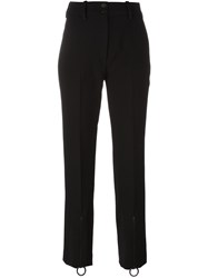 Petar Petrov Cropped Trousers Black
