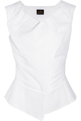 Vivienne Westwood Ocean Broderie Anglaise Cotton Top