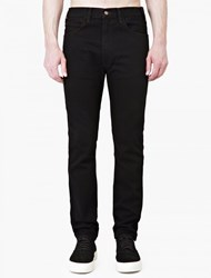 Levi's Black 1966 606 Super Slim Jeans
