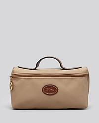 Longchamp Cosmetic Case Le Pliage Beige