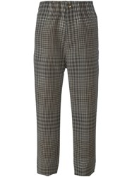 Sofie D'hoore Tartan Check Trousers Multicolour