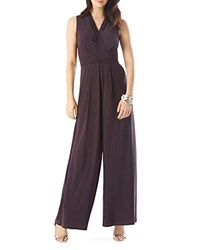 Phase Eight Roxanne Back Tie Jumpsuit Aubergine