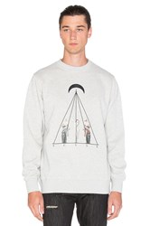 Black Scale Timeless Ii Crewneck Gray