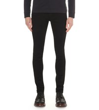 Hugo Boss Slim Fit Straight Jeans Black