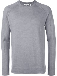 Helmut Lang Exposed Seam Jumper Grey