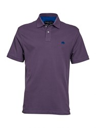 Raging Bull Big And Tall New Signature Polo Shirt Purple