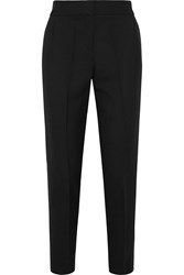 Iris And Ink Oriel Tux Wool Twill Tapered Pants Black