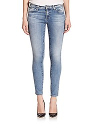 Ag Adriano Goldschmied Legging Ankle Jeans Blue