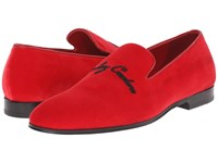 Alexander Mcqueen Legendary Creature Slipper Flame Red Men's Slip On Shoes