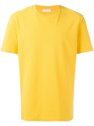 Futur Classic T Shirt Yellow Orange