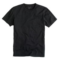 J.Crew Tall Broken In Tee Faded Black