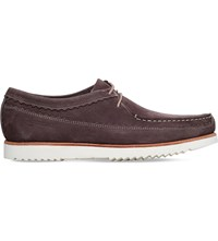 Grenson Owen Leather Moccasins Brown