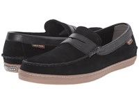 Cole Haan Pinch Weekender Black Waterproof Suede Men's Slip On Shoes