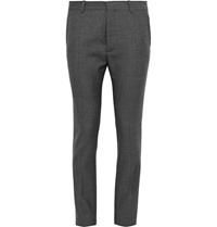 Jil Sander Charcoal Slim Fit Trousers Gray