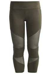 Onzie Tights Olive Olive Khaki