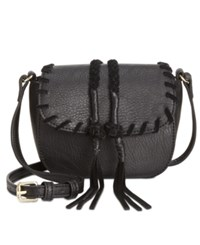 Inc International Concepts Callie Saddle Bag Only At Macy's Black