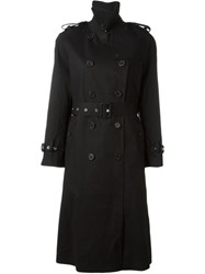 Mackintosh Belted Trench Coat Black