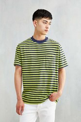 Cpo Stripe Box Tee Bright Green