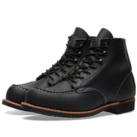 Red Wing Shoes 2964 Heritage Work Cooper Moc Toe Boot Black
